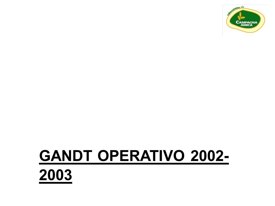 GANDT OPERATIVO 2002-2003