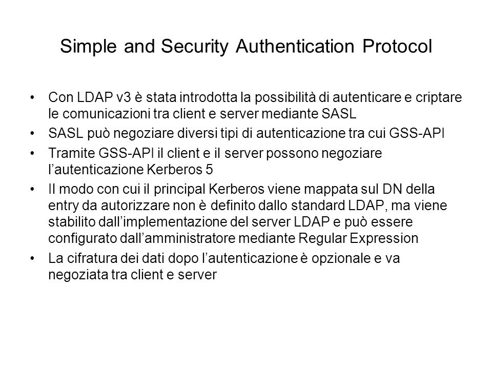 Simple and Security Authentication Protocol