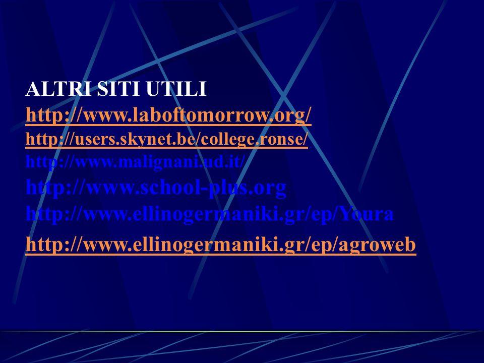 http://www.school-plus.org ALTRI SITI UTILI