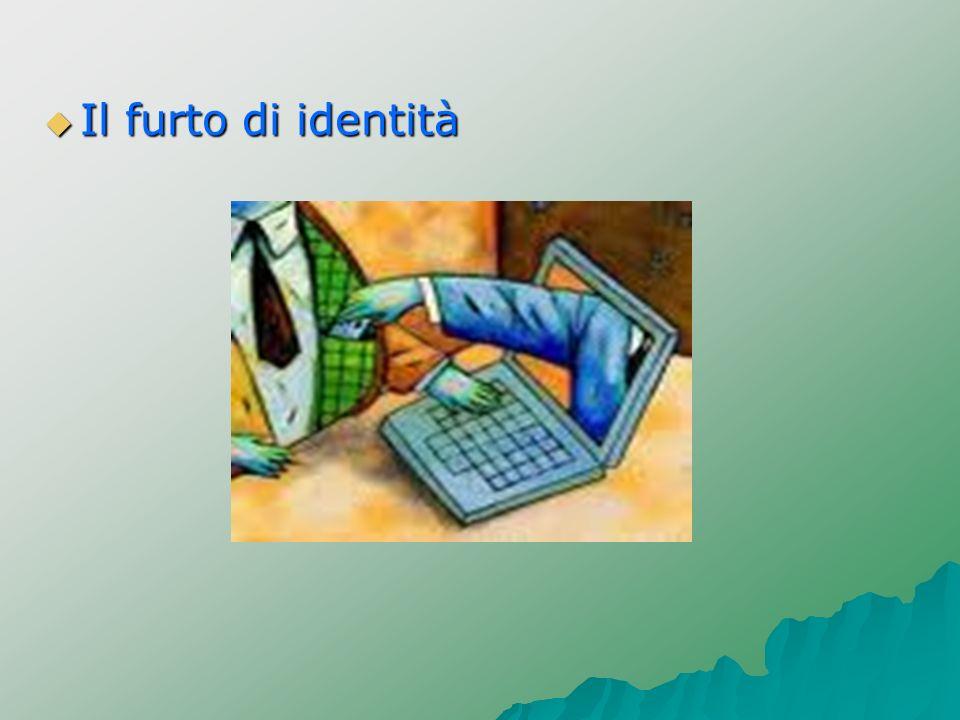 Il furto di identità