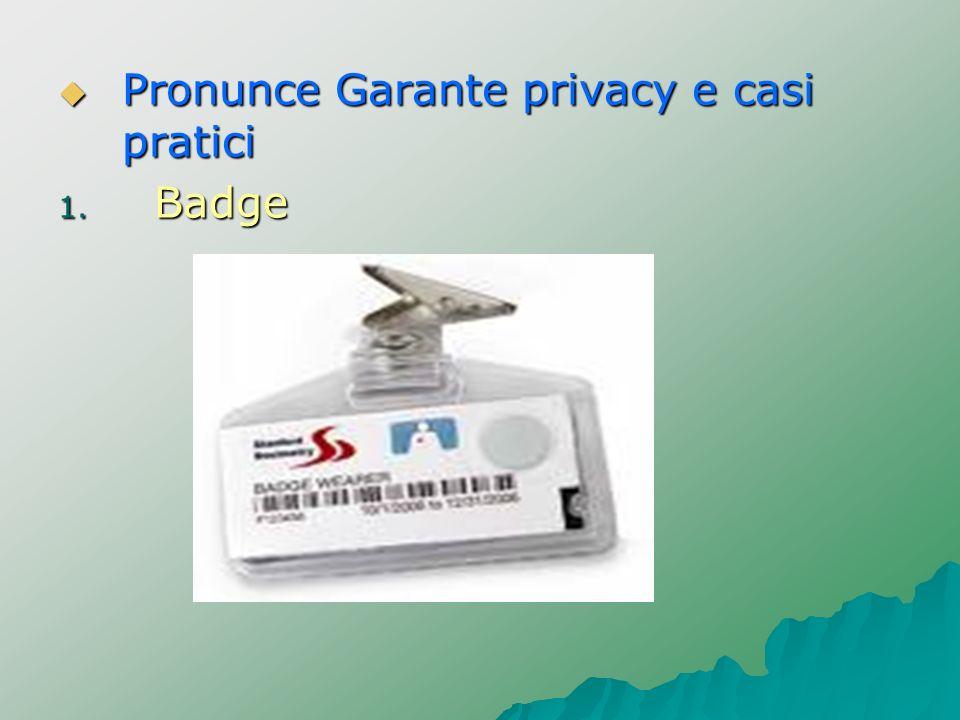 Pronunce Garante privacy e casi pratici