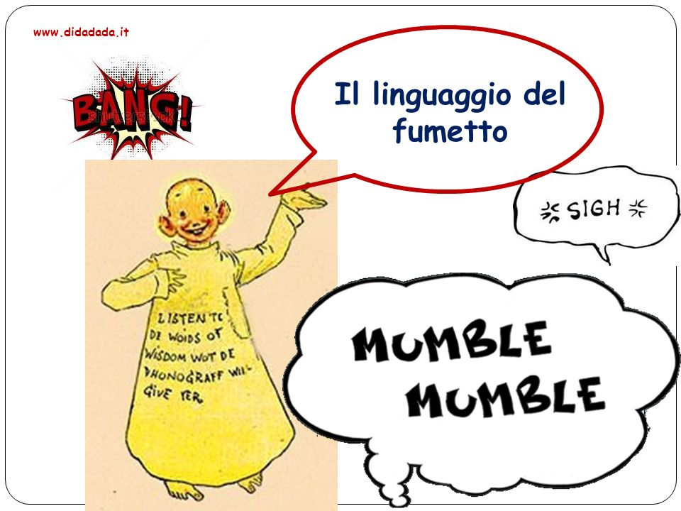 Il linguaggio del fumetto