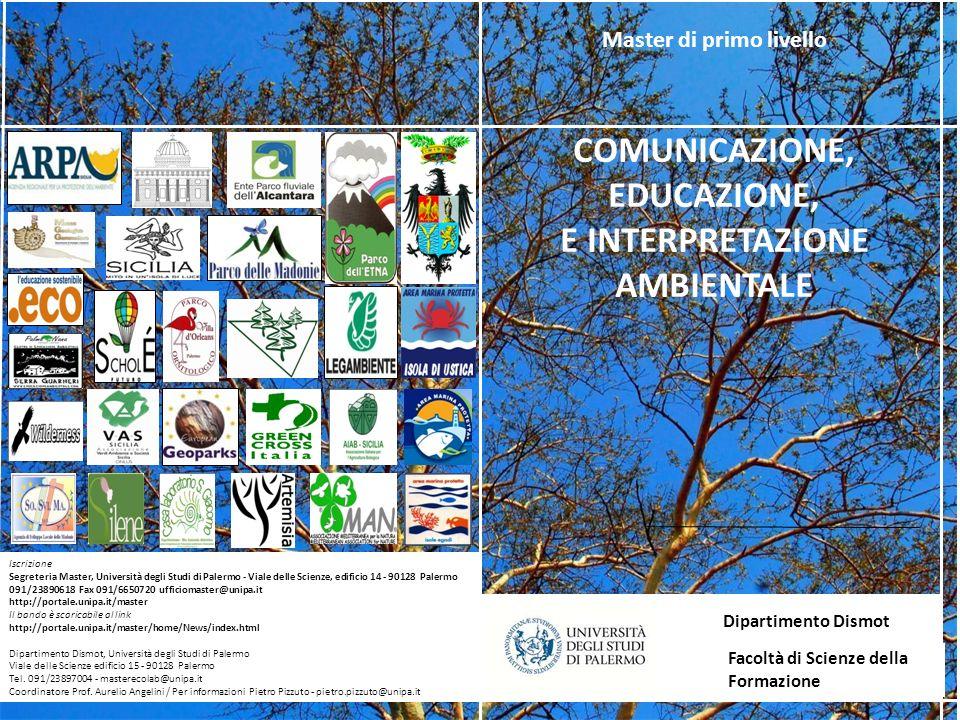 COMUNICAZIONE, EDUCAZIONE, E INTERPRETAZIONE AMBIENTALE