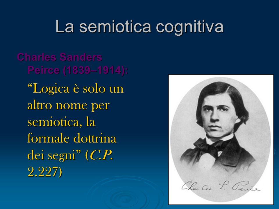 La semiotica cognitiva