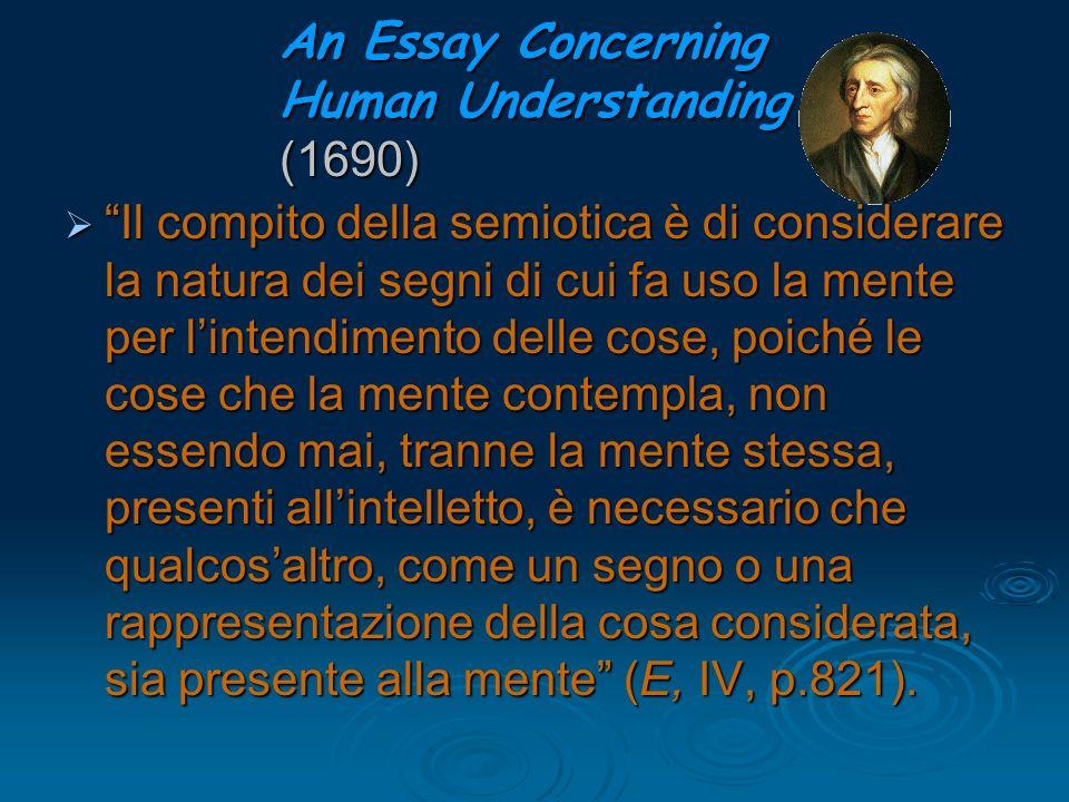 An Essay Concerning Human Understanding (1690)