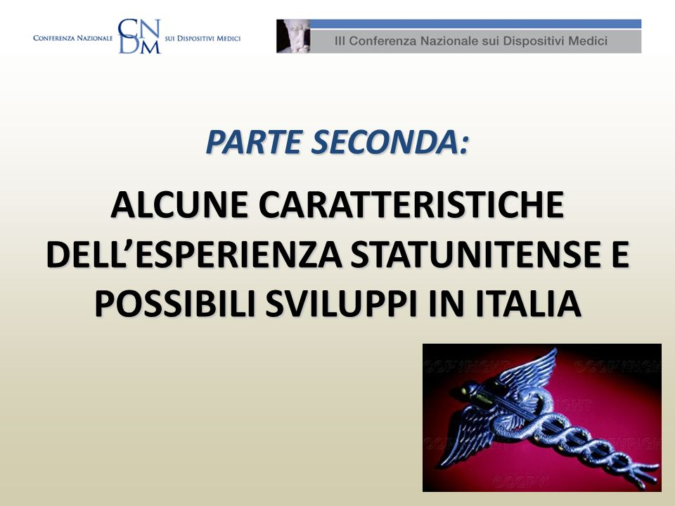 III CONFERENZA NAZIONALE DISPOSITIVI MEDICI, ROMA 13-14 APRILE 2010