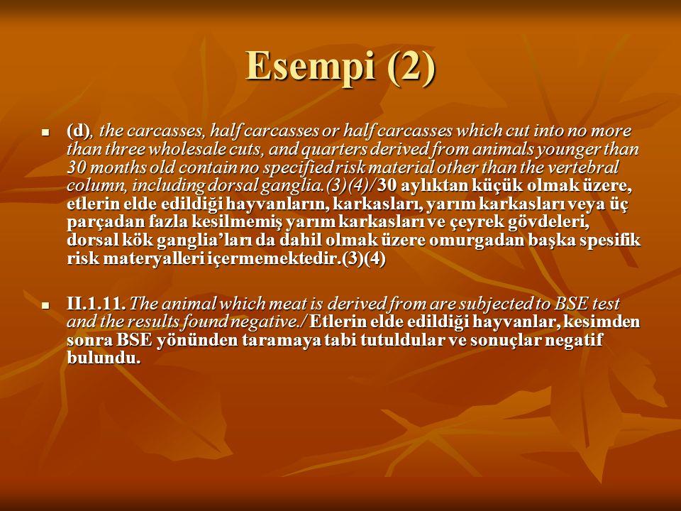 Esempi (2)
