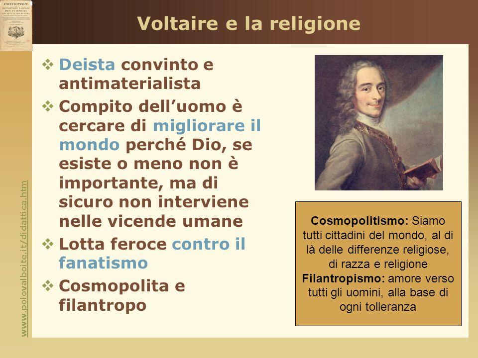 Voltaire e la religione