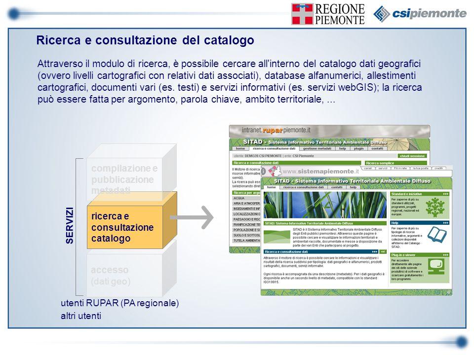 Ricerca e consultazione del catalogo