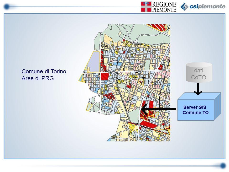 dati Comune di Torino CoTO Aree di PRG Server GIS Comune TO