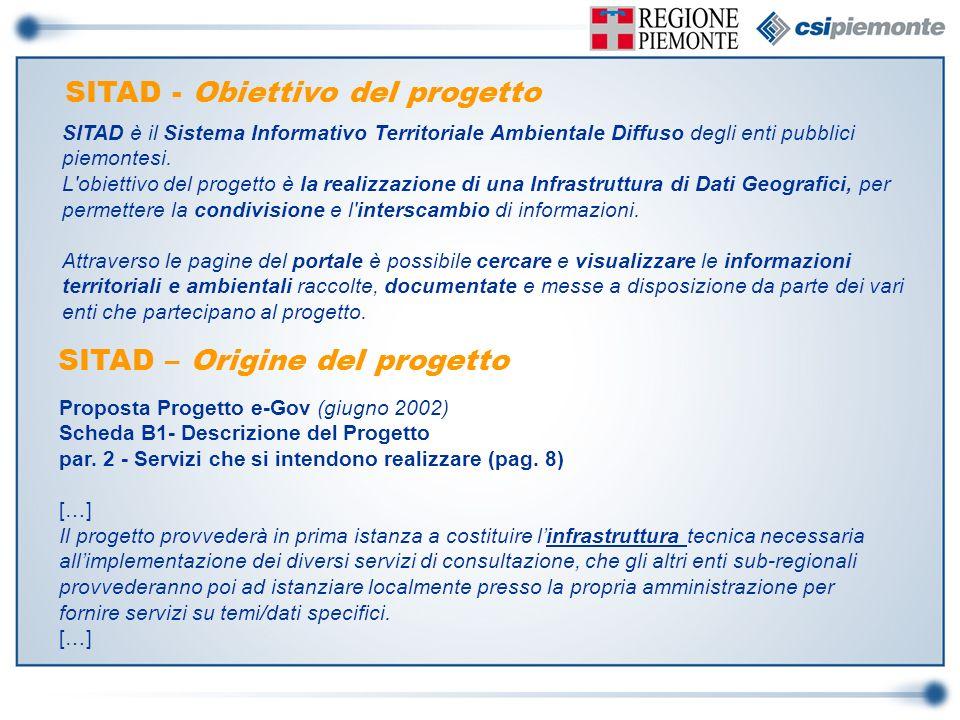 SITAD - Obiettivo del progetto
