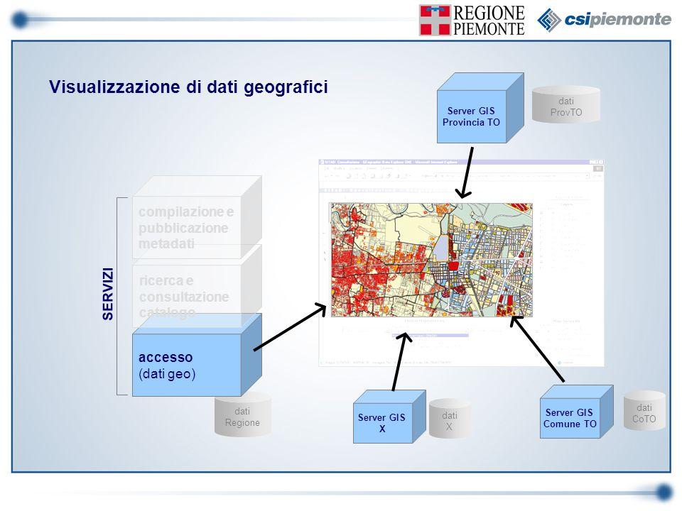 Visualizzazione di dati geografici