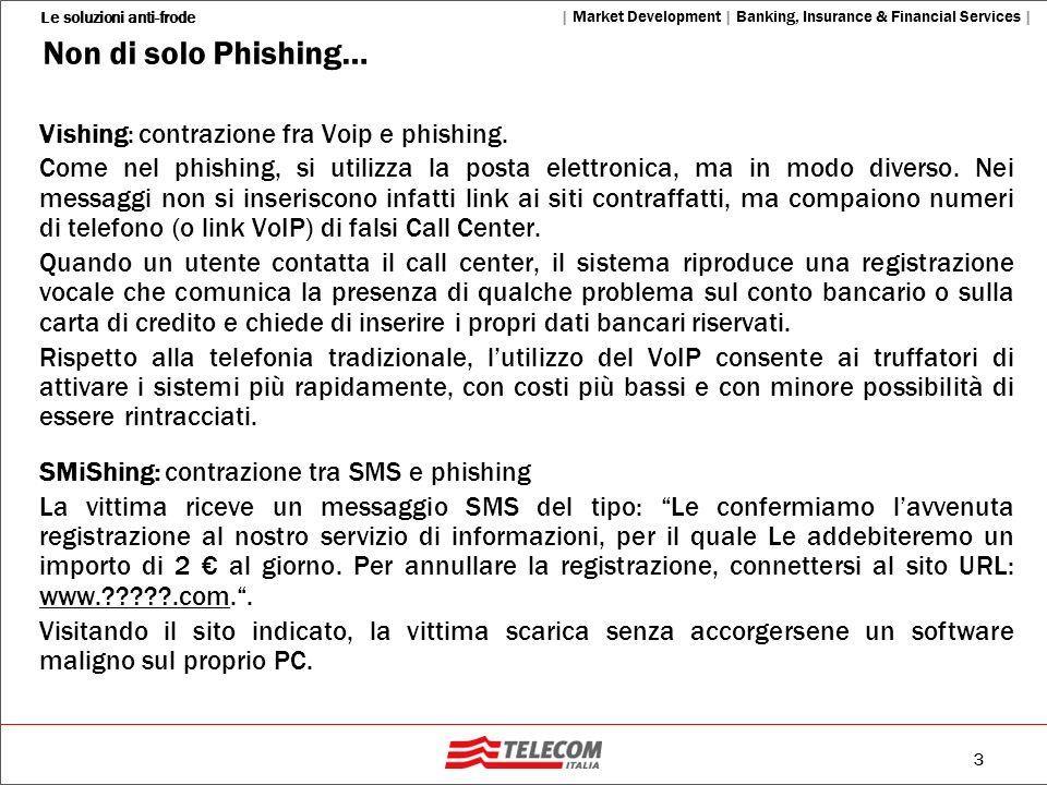 Non di solo Phishing… Vishing: contrazione fra Voip e phishing.