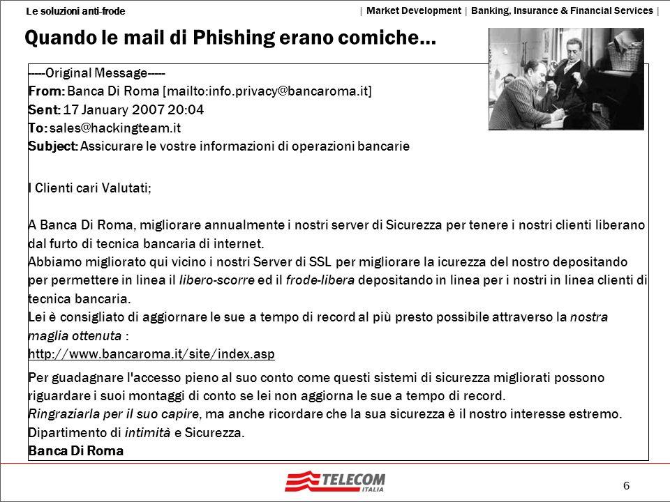 Quando le mail di Phishing erano comiche…