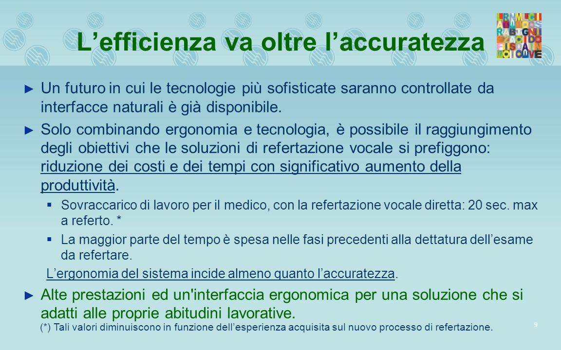 L'efficienza va oltre l'accuratezza