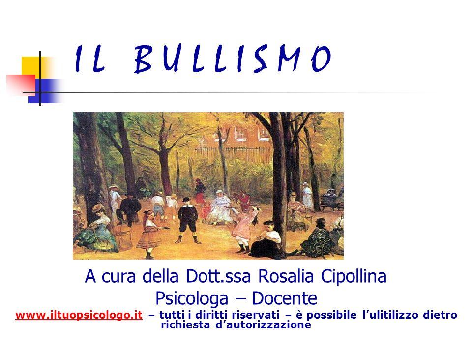 A cura della Dott.ssa Rosalia Cipollina