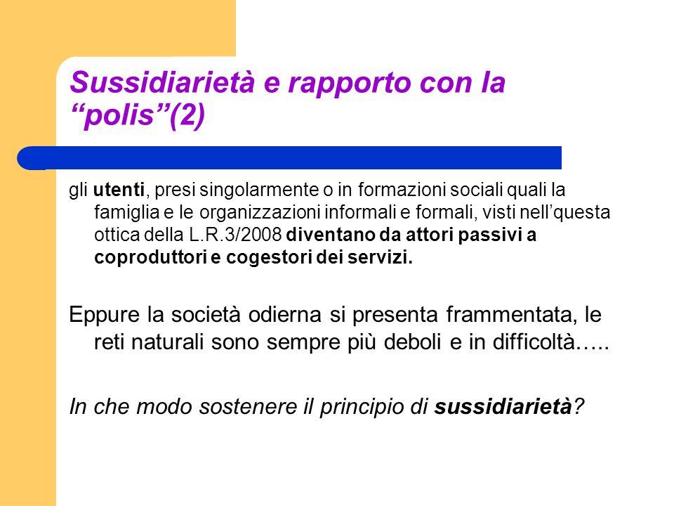 Sussidiarietà e rapporto con la polis (2)