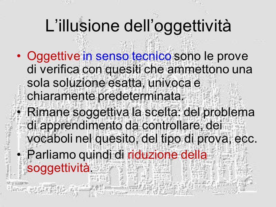 L'illusione dell'oggettività