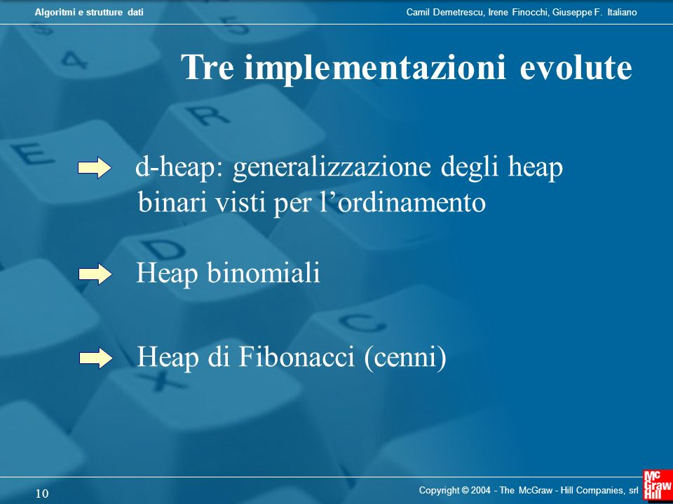 Tre implementazioni evolute
