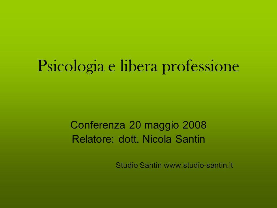 Psicologia e libera professione