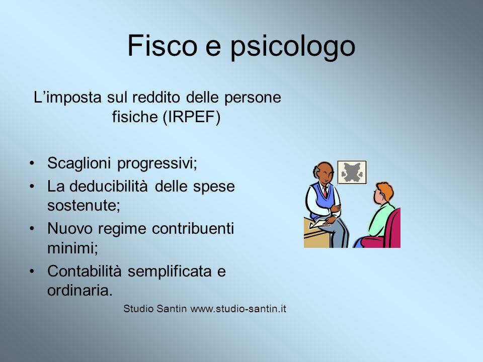 L'imposta sul reddito delle persone fisiche (IRPEF)