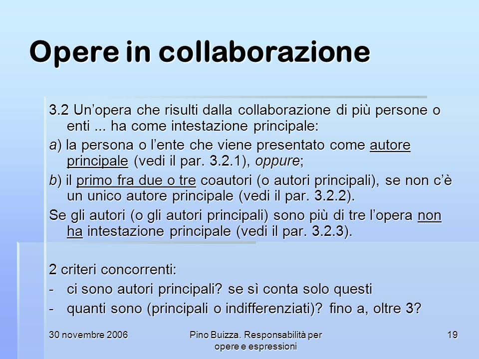 Opere in collaborazione