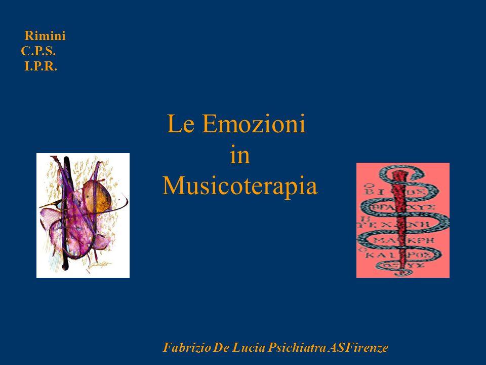 in Musicoterapia Le Emozioni Rimini C.P.S. I.P.R.