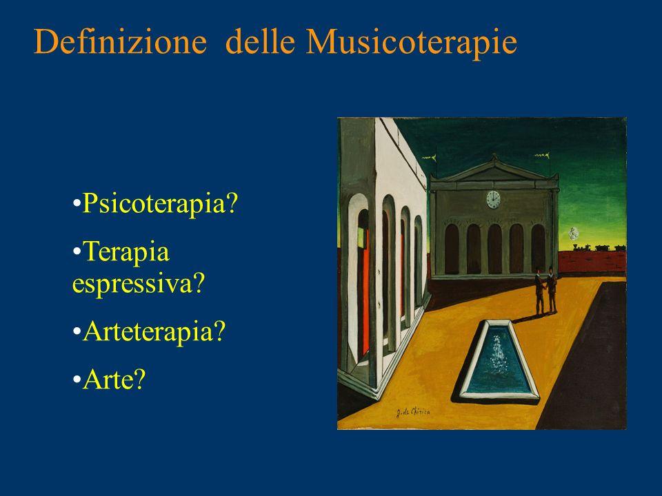 Definizione delle Musicoterapie