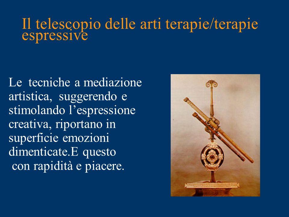 Il telescopio delle arti terapie/terapie espressive