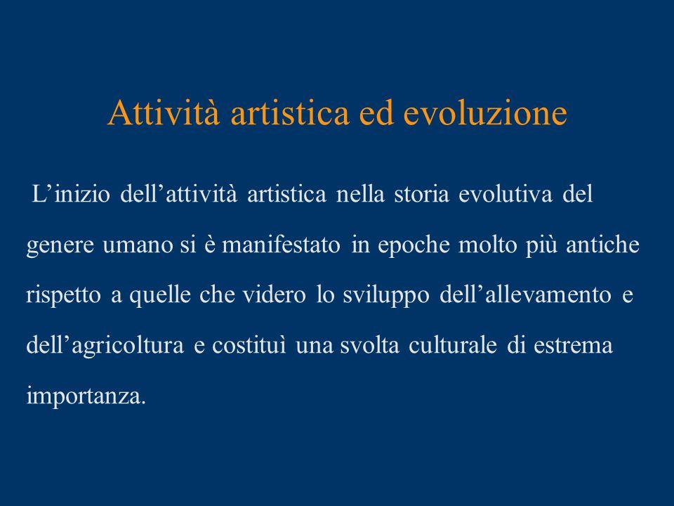 Attività artistica ed evoluzione