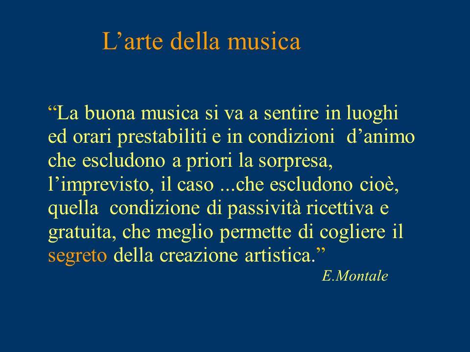L'arte della musica