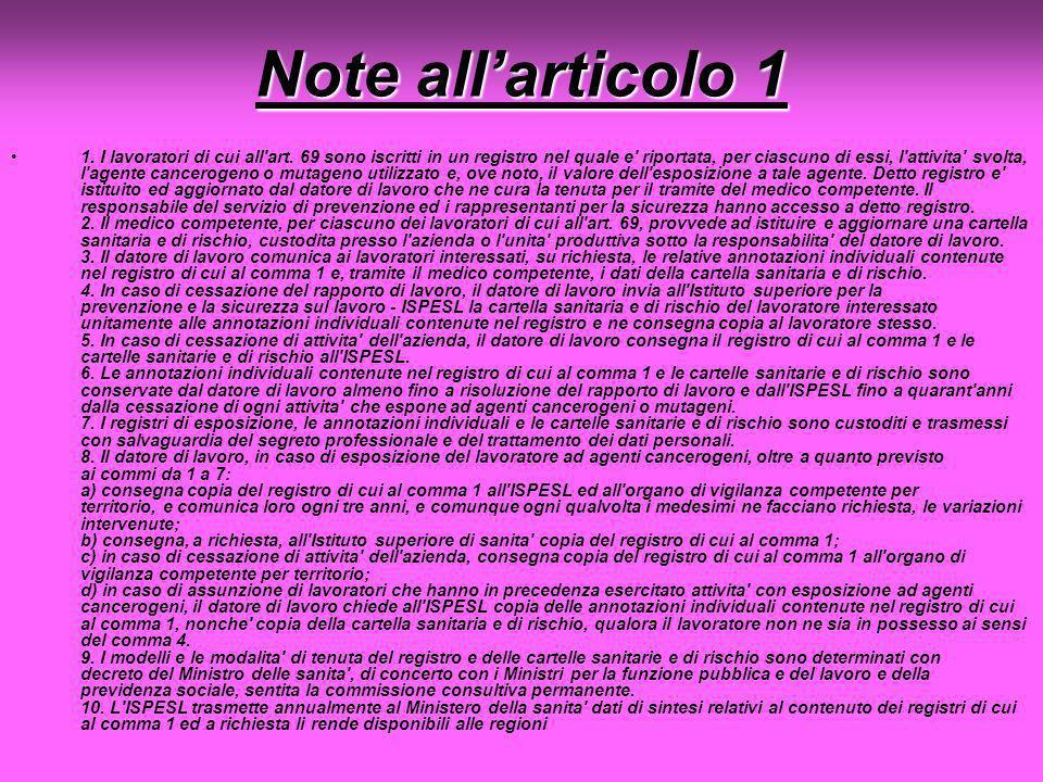 Note all'articolo 1