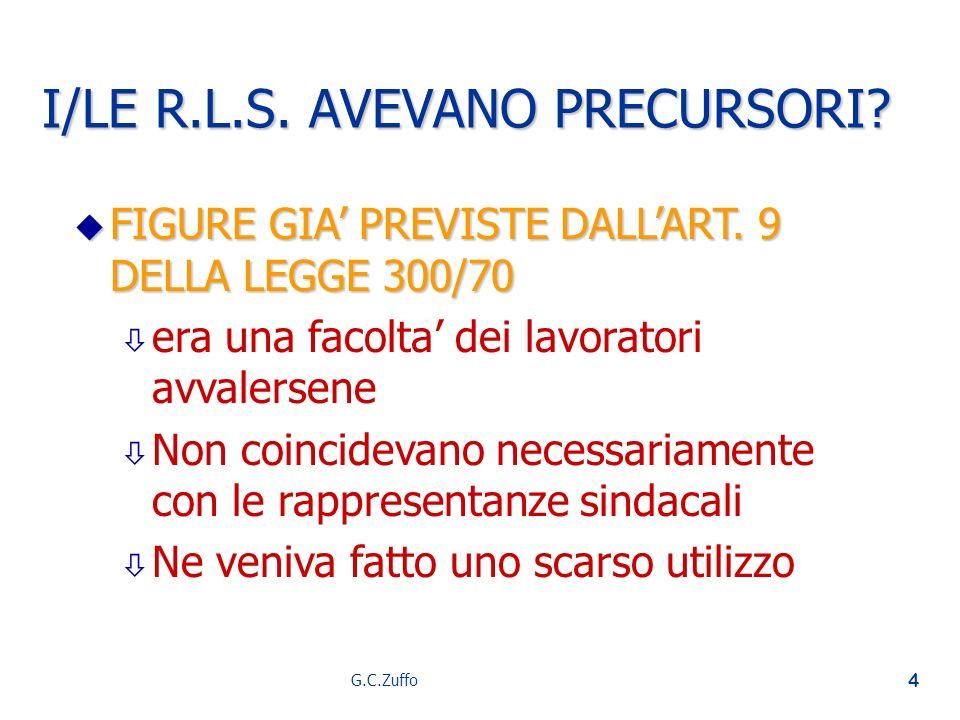 I/LE R.L.S. AVEVANO PRECURSORI
