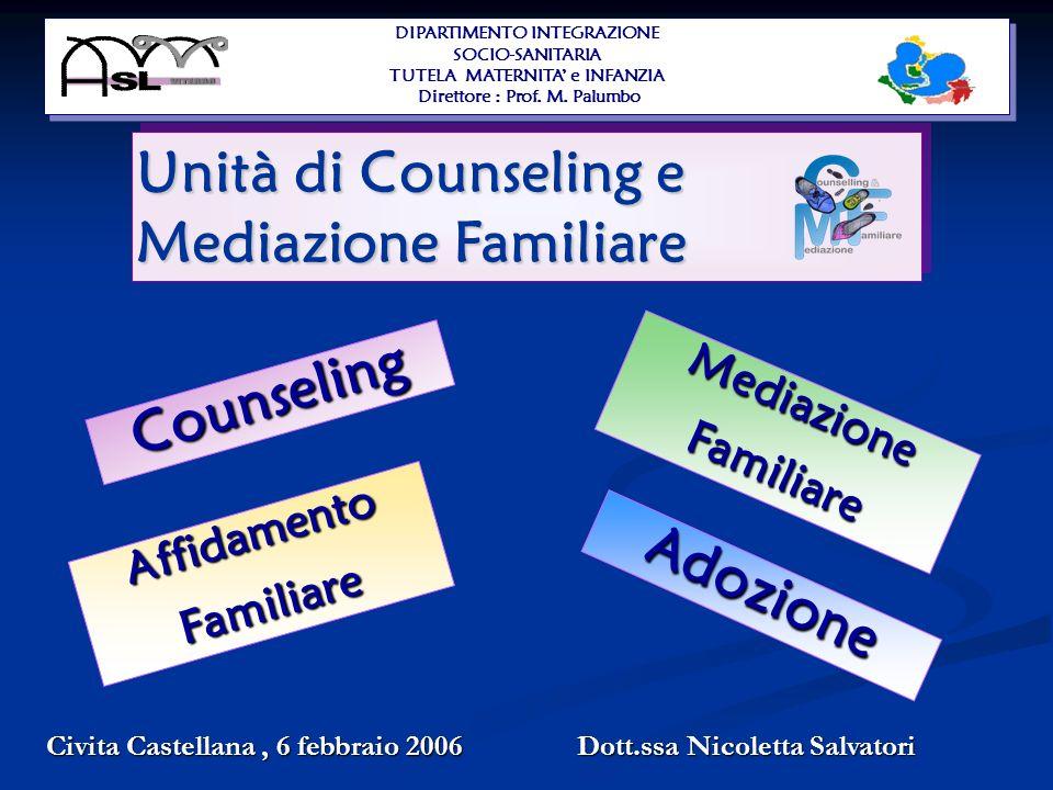 Unità di Counseling e Mediazione Familiare
