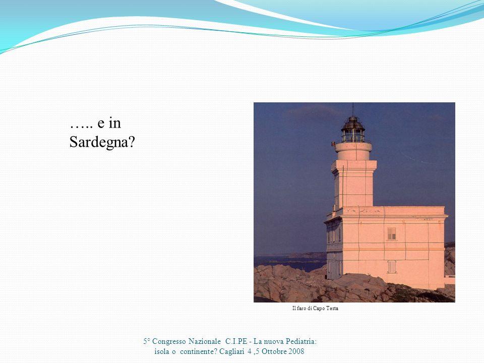 ….. e in Sardegna. Il faro di Capo Testa.