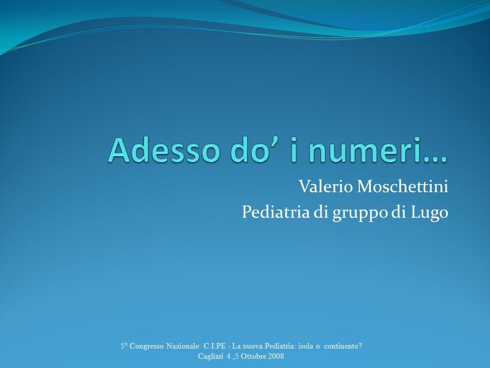 Valerio Moschettini Pediatria di gruppo di Lugo