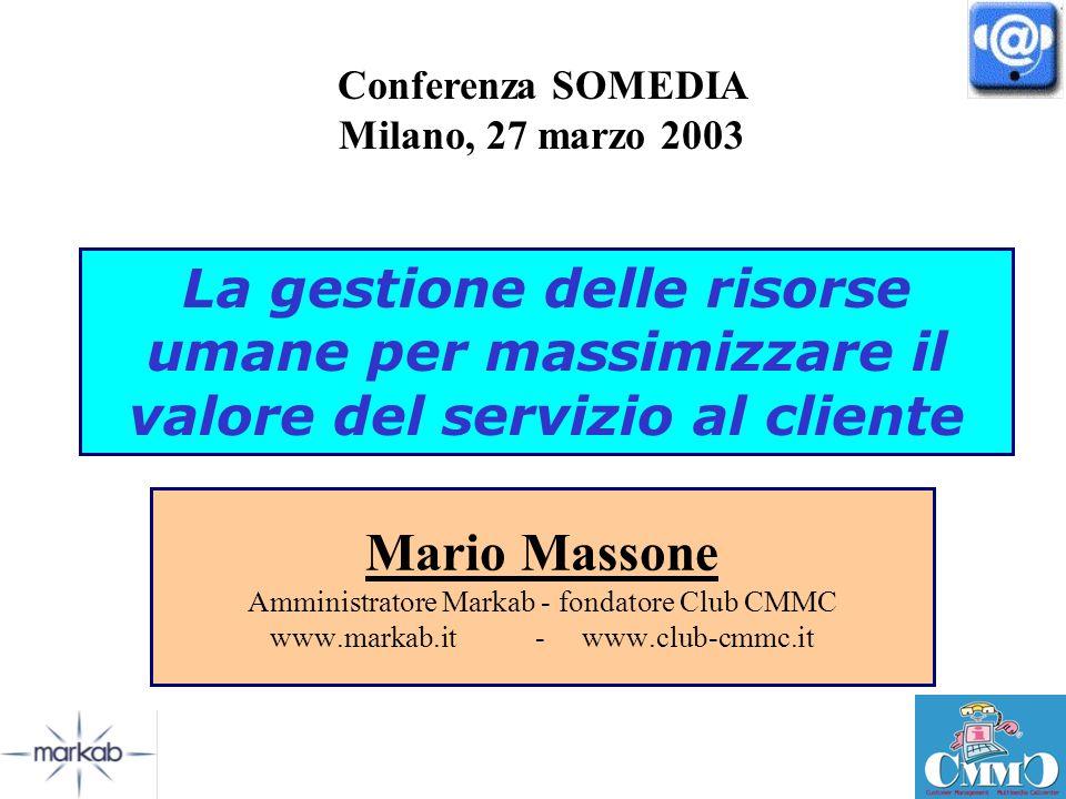 Conferenza SOMEDIA Milano, 27 marzo 2003