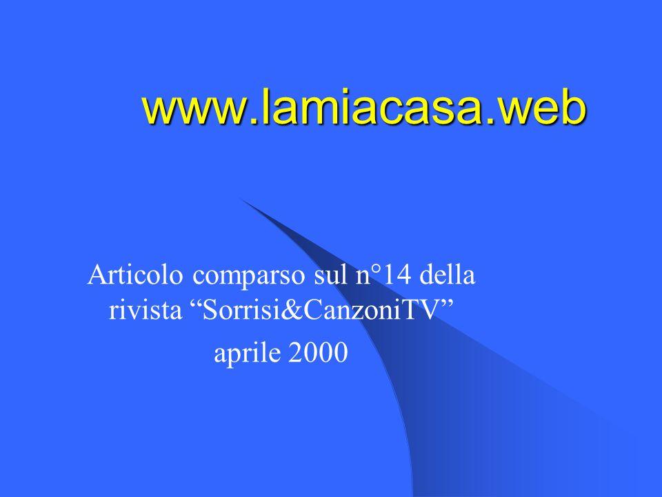 Articolo comparso sul n°14 della rivista Sorrisi&CanzoniTV