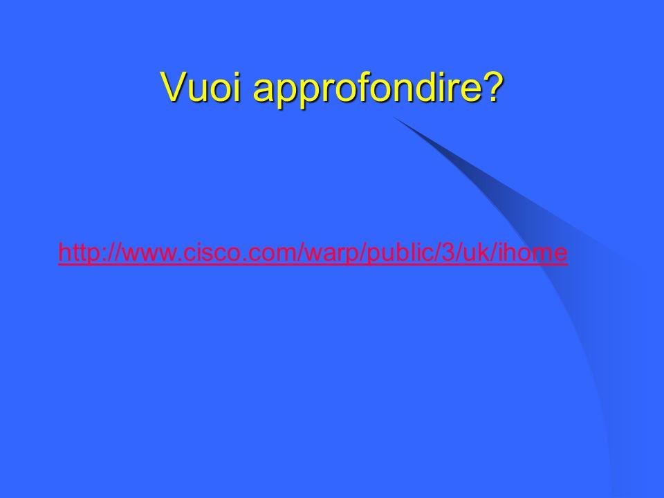 Vuoi approfondire http://www.cisco.com/warp/public/3/uk/ihome