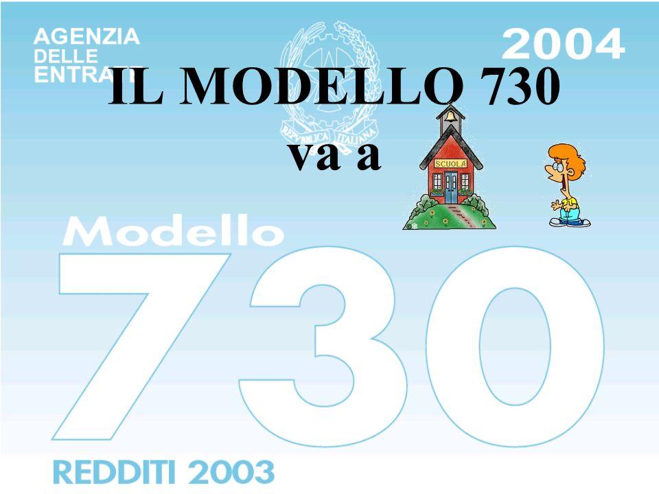IL MODELLO 730 va a