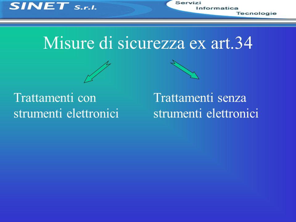 Misure di sicurezza ex art.34