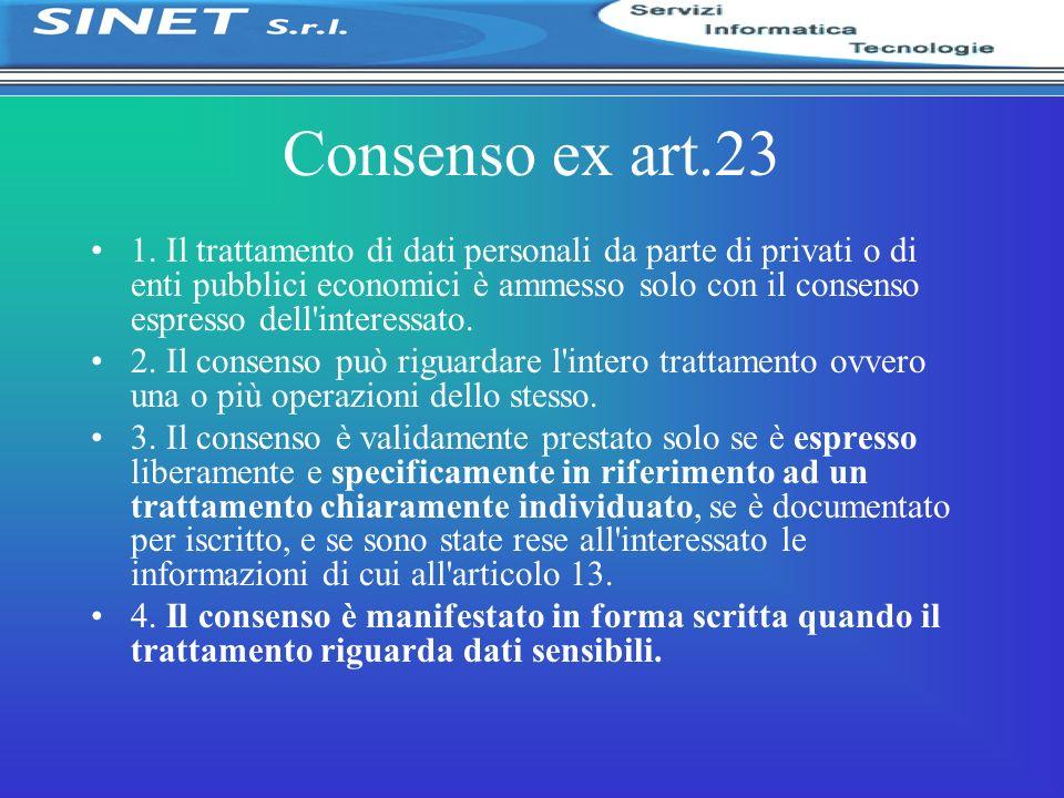 Consenso ex art.23