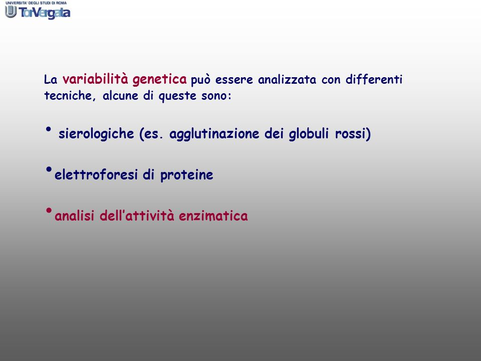 elettroforesi di proteine