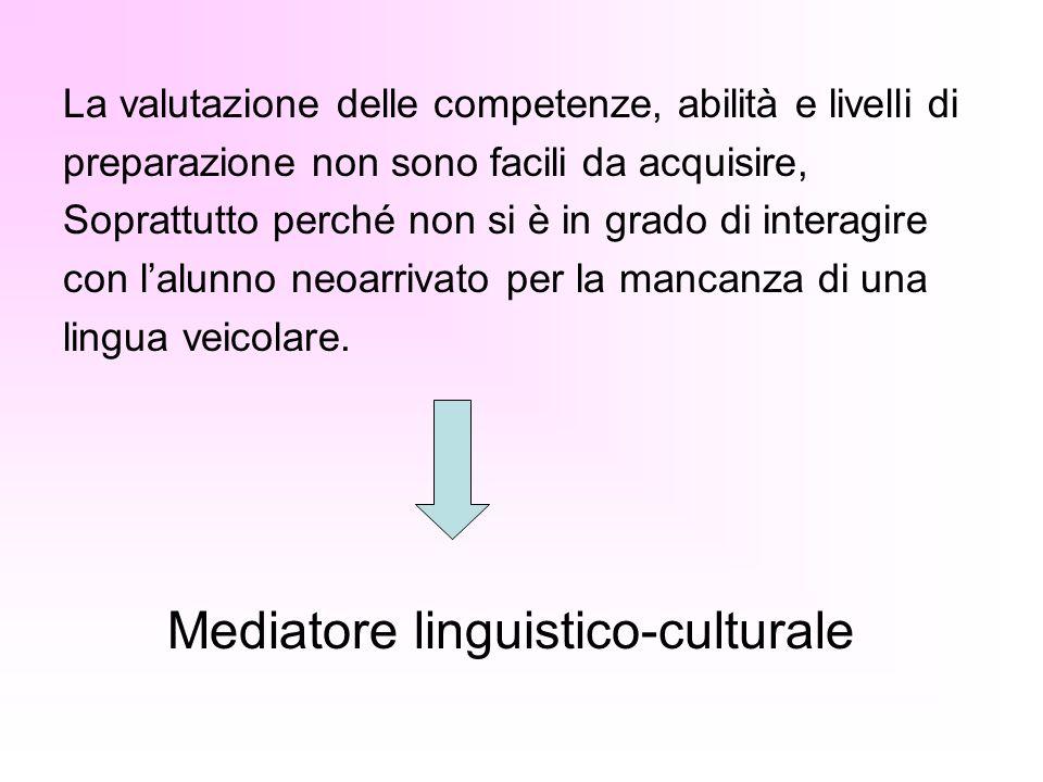 Mediatore linguistico-culturale