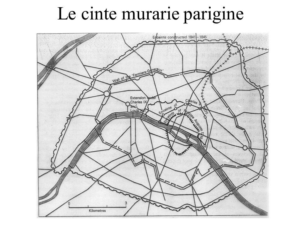 Le cinte murarie parigine