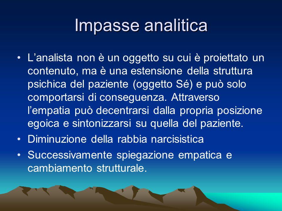 Impasse analitica