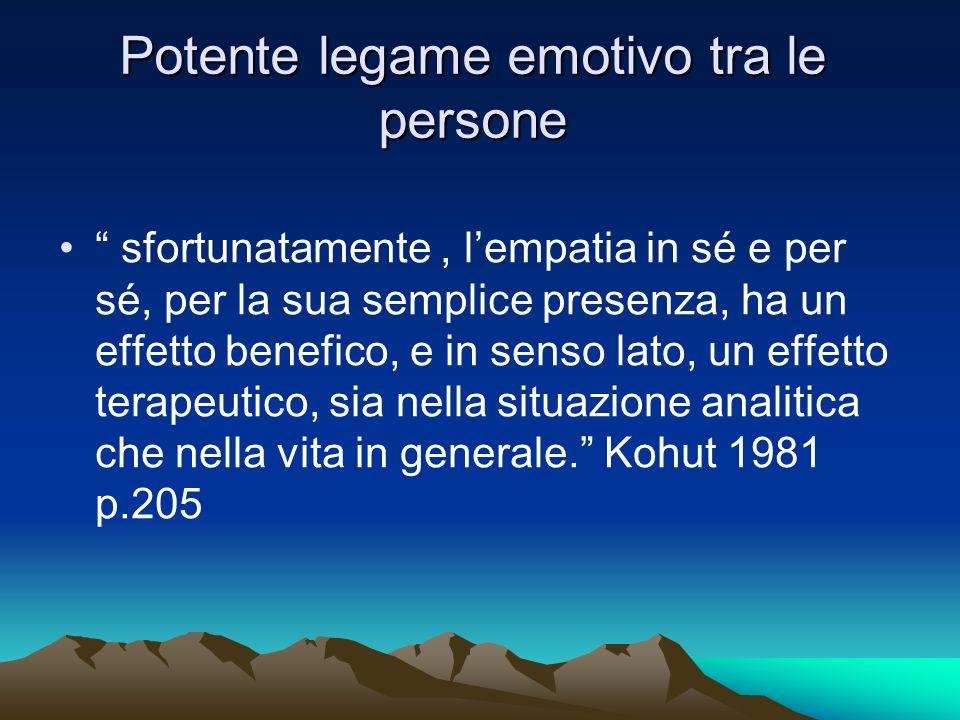 Potente legame emotivo tra le persone