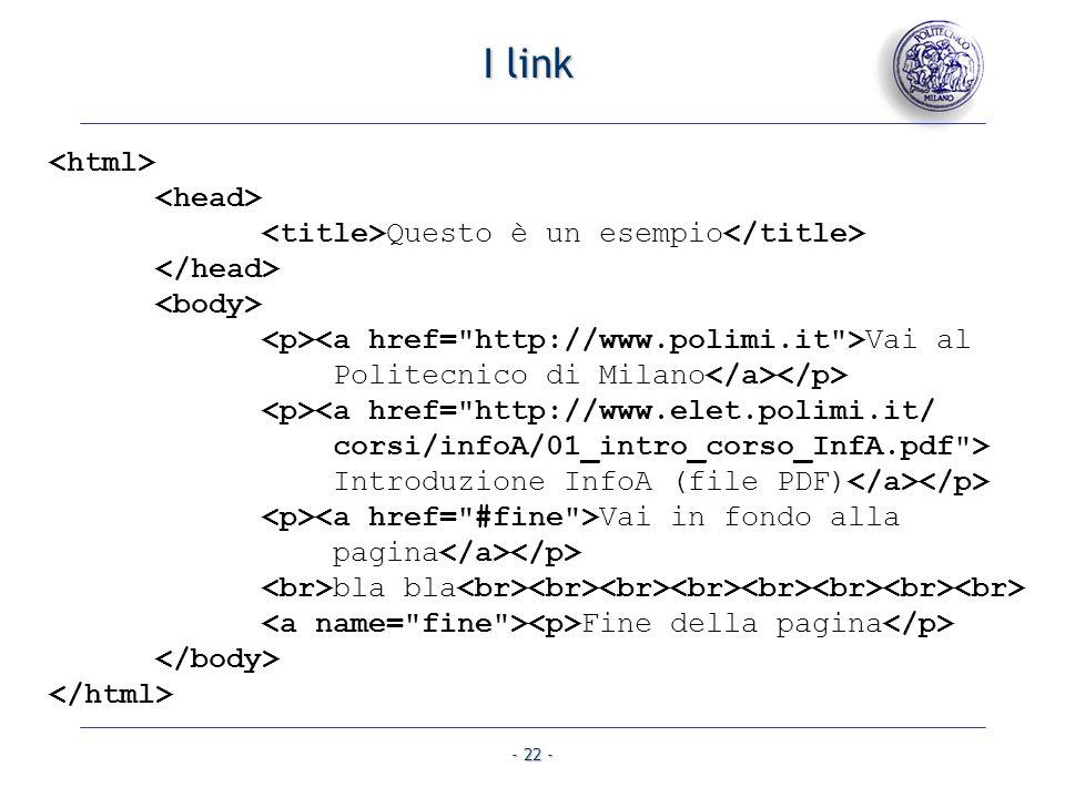 I link <html> <head>