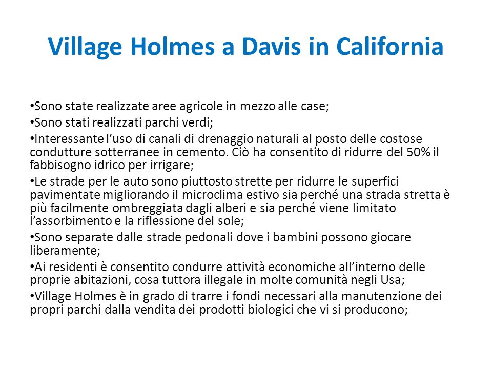Village Holmes a Davis in California