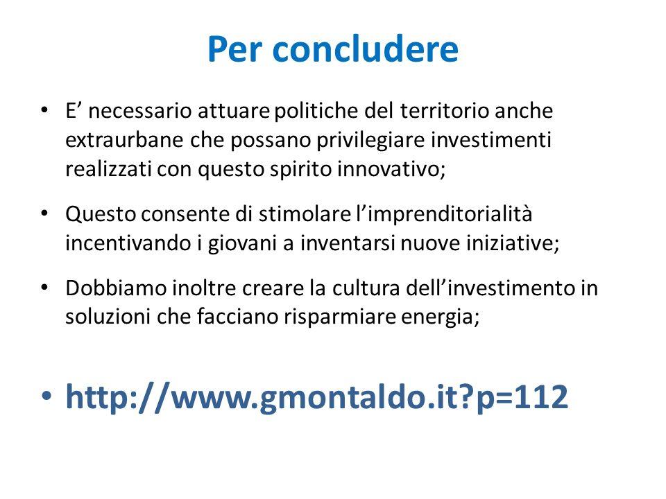 Per concludere http://www.gmontaldo.it p=112